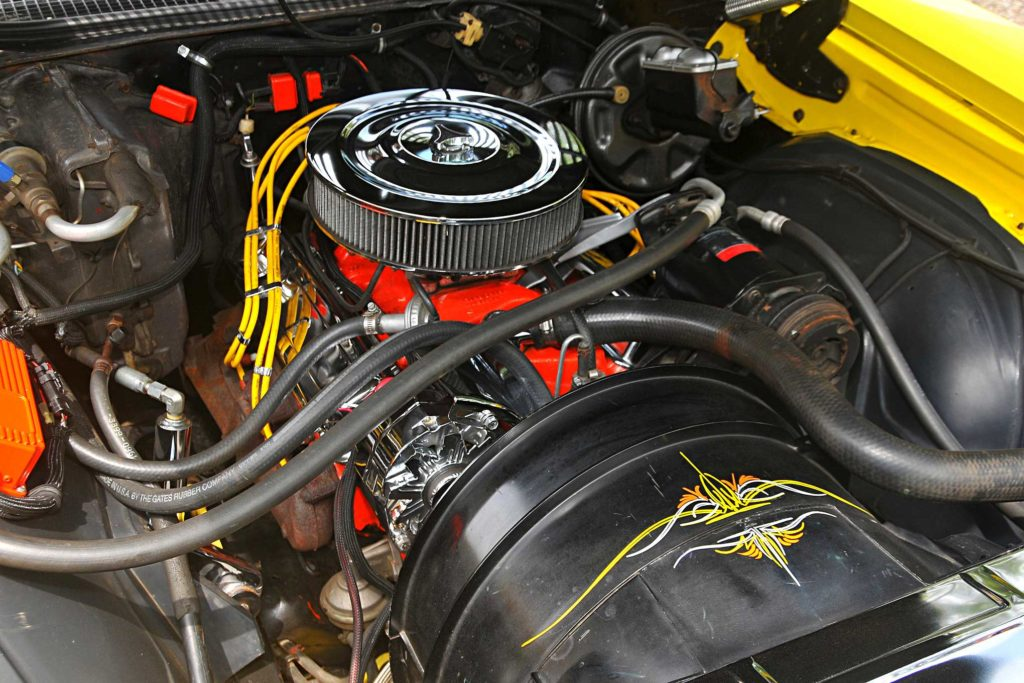 1971 chevrolet monte carlo chevy 350 engine