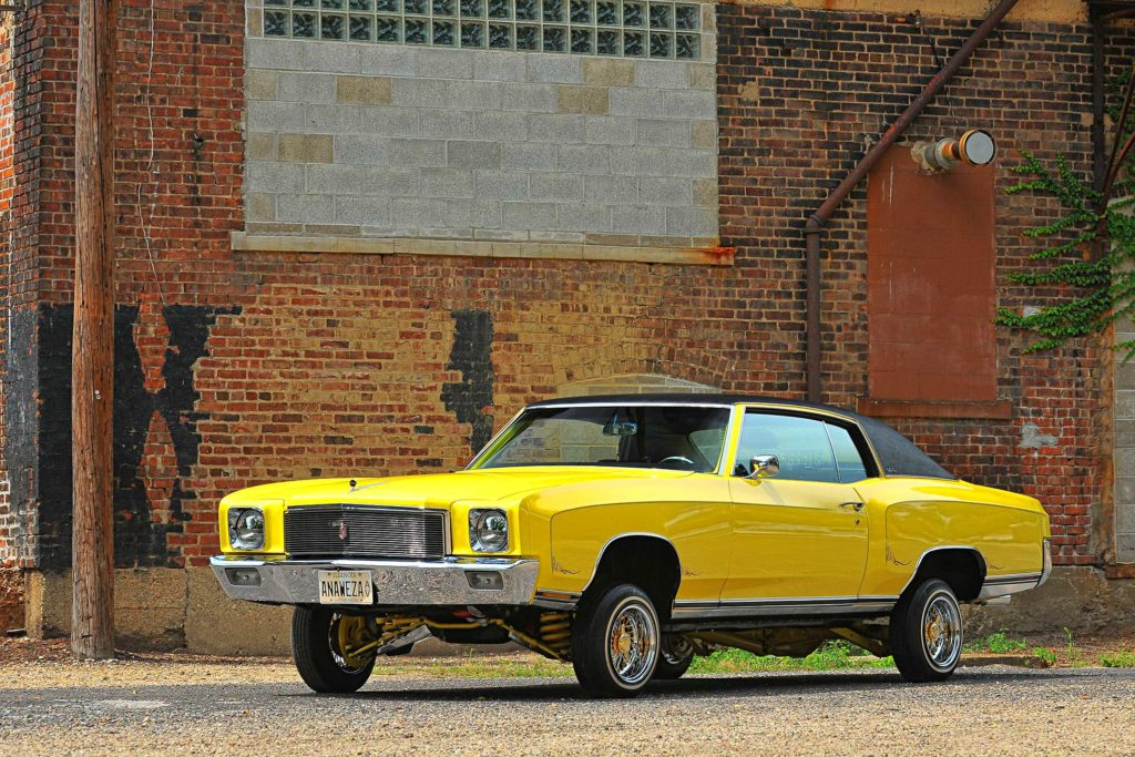 1971 chevrolet monte carlo locked up