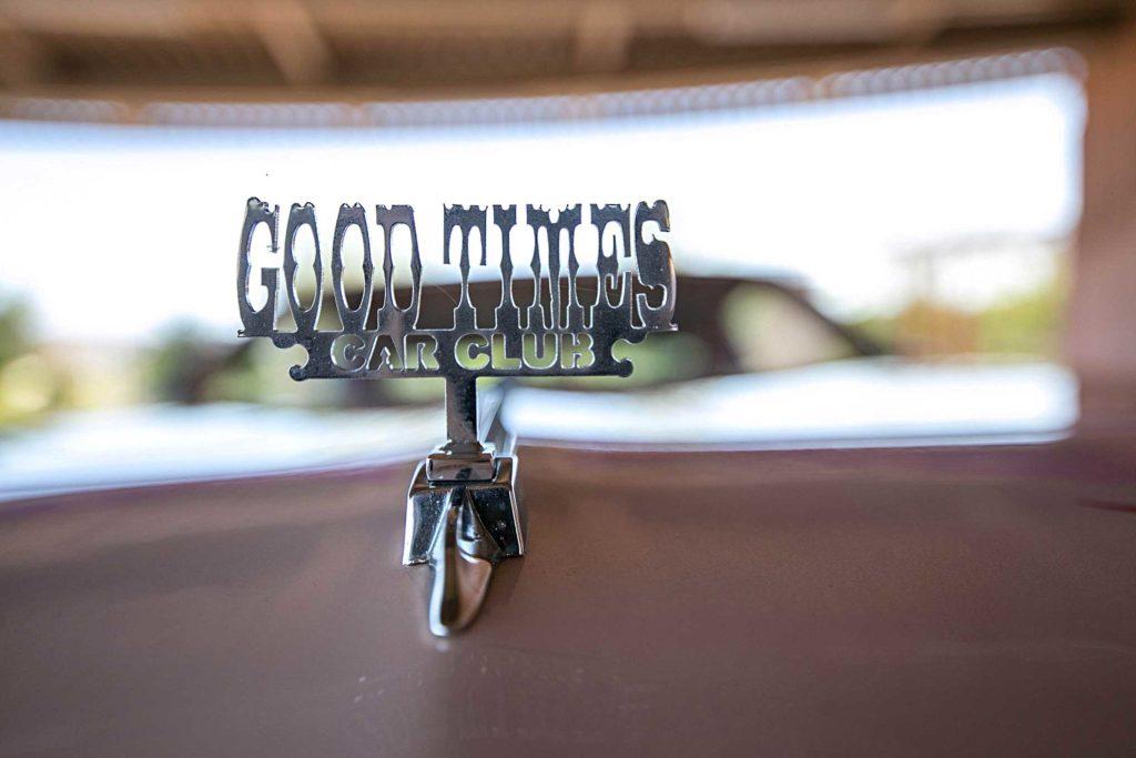 1978 oldsmobile cutlass supreme goodtimes car club custom hood ornament