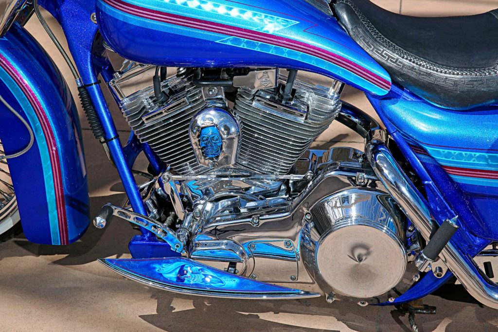 1999 harley davidson road king v twin engine