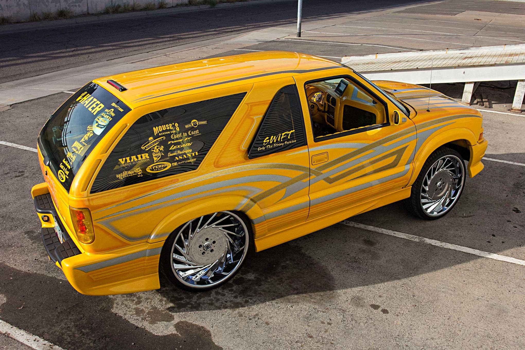 2003 chevy blazer xtreme an build
