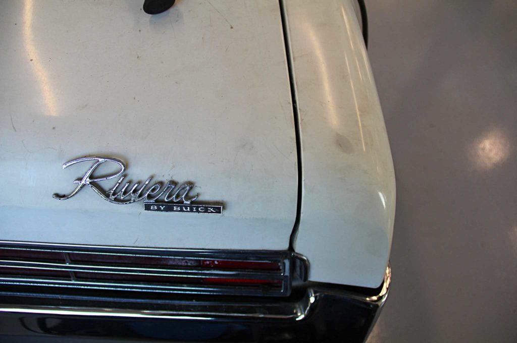 refining the fine lines of project riviera boat tail trunk badge
