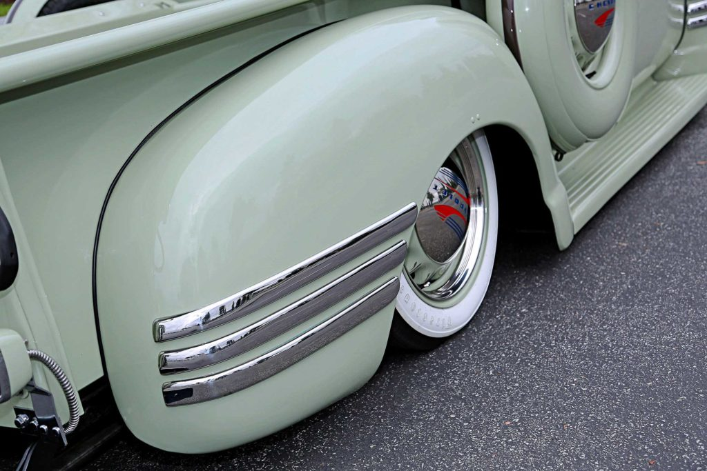 1949 Chevrolet 3100 Passenger Side Rear Quarter Panel