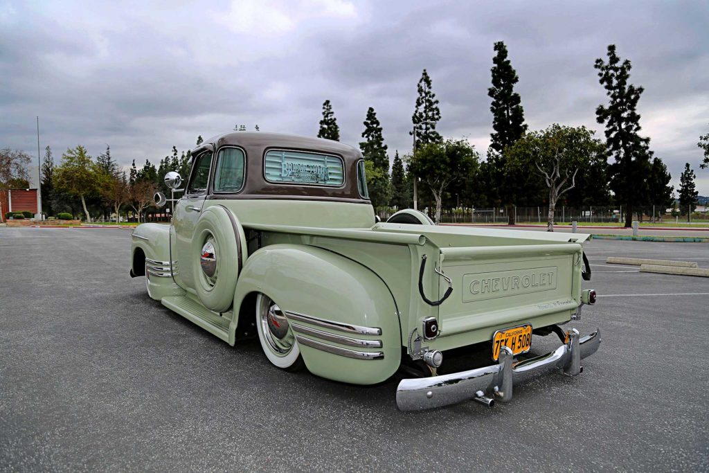 1949 Chevrolet 3100 back side
