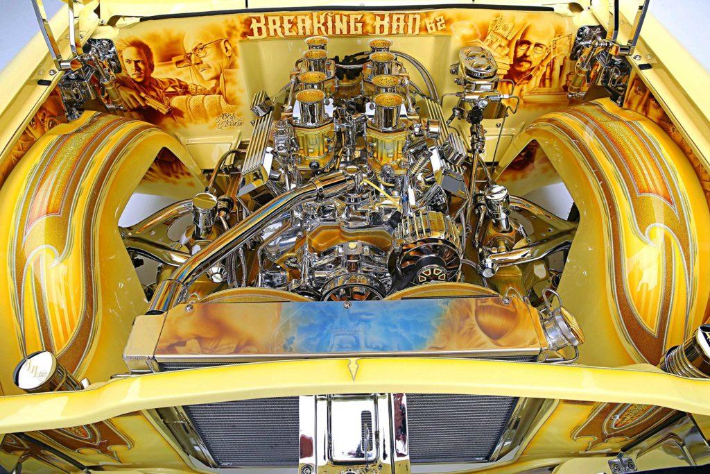 1962 Chevrolet Impala Engine Bay