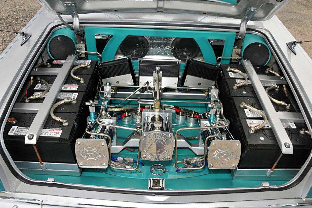 1963 Chevrolet Impala Convertible Hydraulic Setup