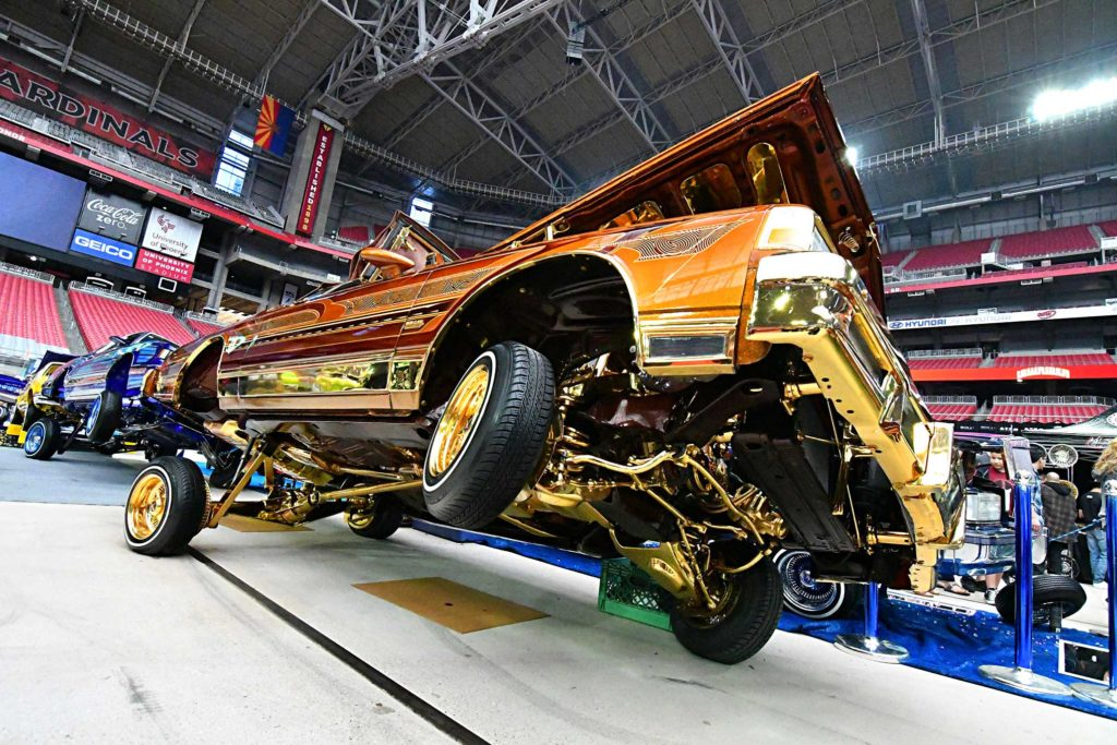 2017 Arizona Lowrider Super Show Speedy Box Rag