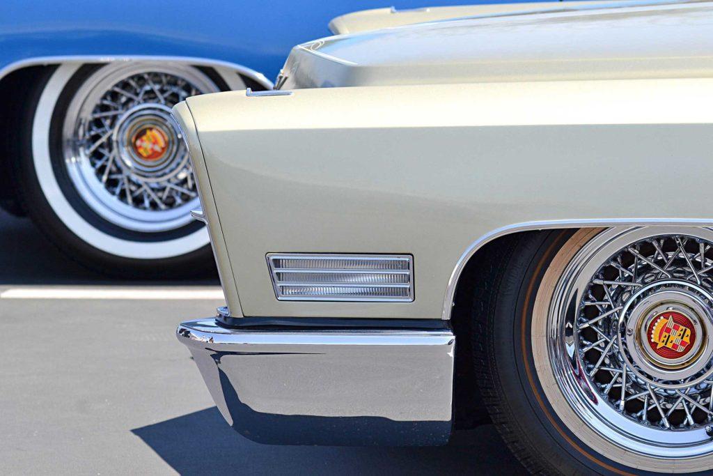 Cadillac Fest 6 Wire Wheels