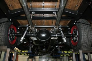 tci chevy truck suspensions 47 54 four link suspension setup