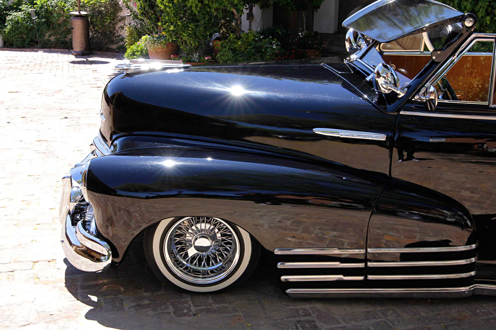 1947 chevrolet fleetmaster convertible driver side front fender