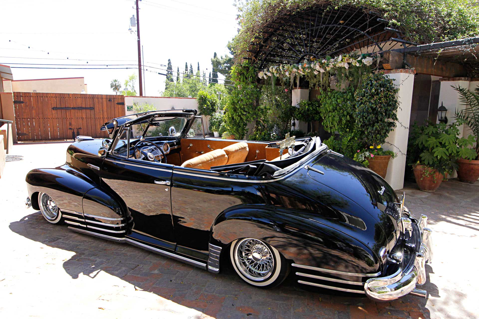 1947 chevrolet fleetmaster convertible driver side view - lowrider