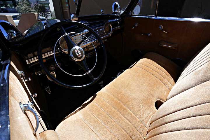 1947 Chevrolet Fleetmaster Convertible Interior