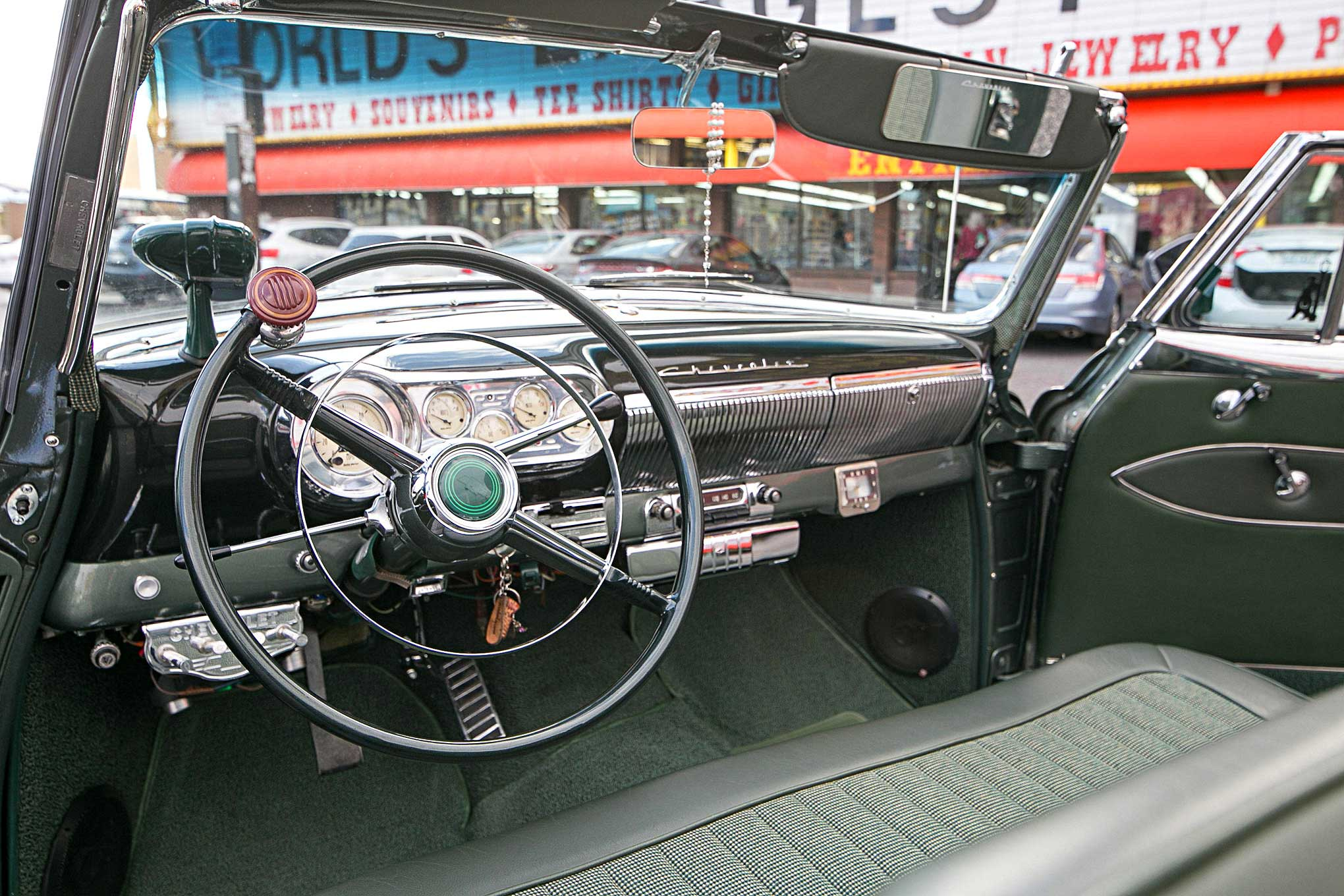 1953 Chevrolet Bel Air Steering Wheel Dash Lowrider