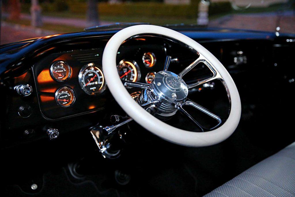 1958 GMC 100 Sharp Billet Steering Wheel