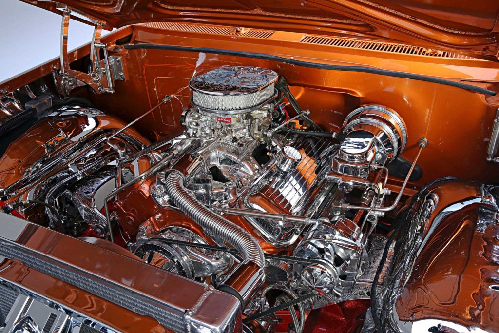 1961 Chevrolet Impala Convertible 396 Big Block Engine