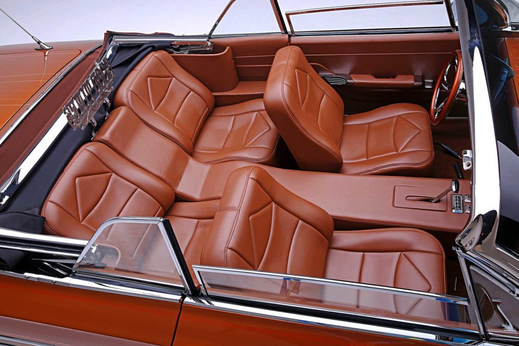 1961 Chevrolet Impala Convertible Custom Bucket Seats