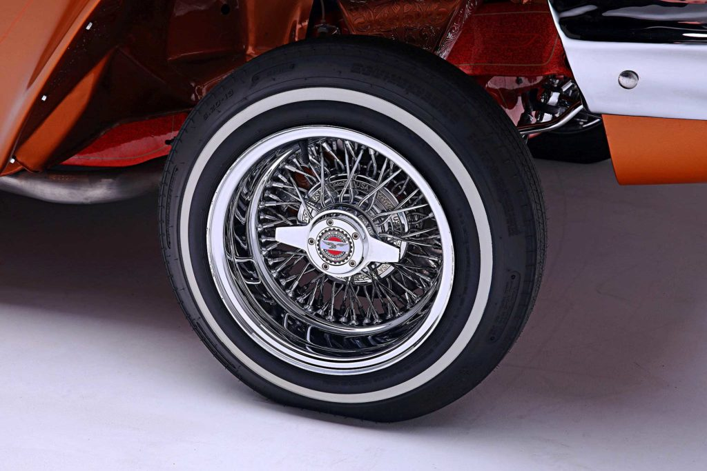 1961 Chevrolet Impala convertible Cross Lace Zenith Wire Wheel