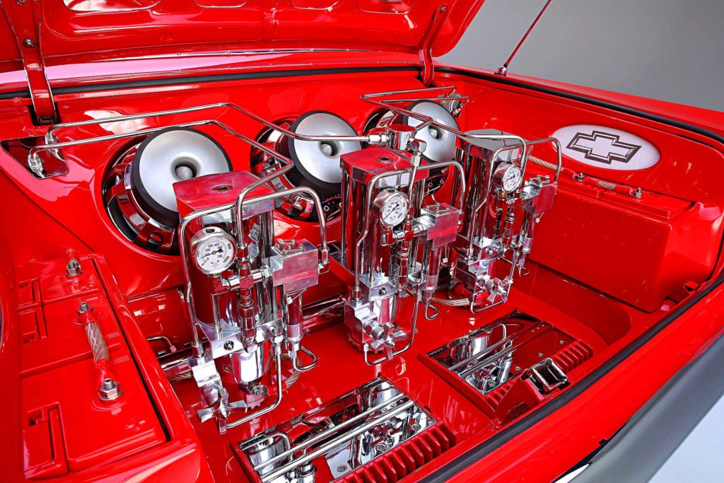 1964 Chevrolet Impala Convertible Super Sport Switches and Thangs Pumps
