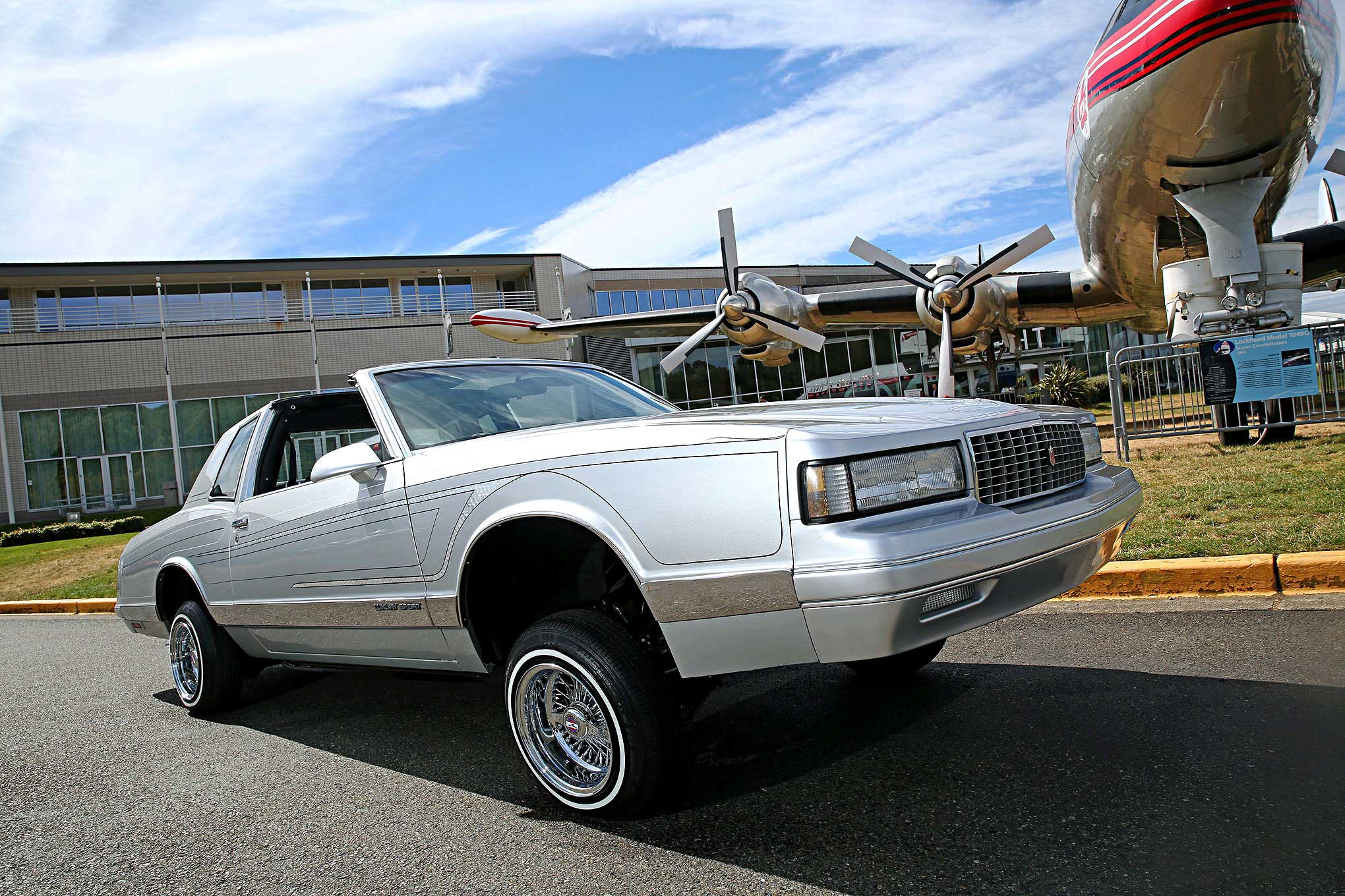 Chevrolet Monte Carlo Ls Passenger Side Front View
