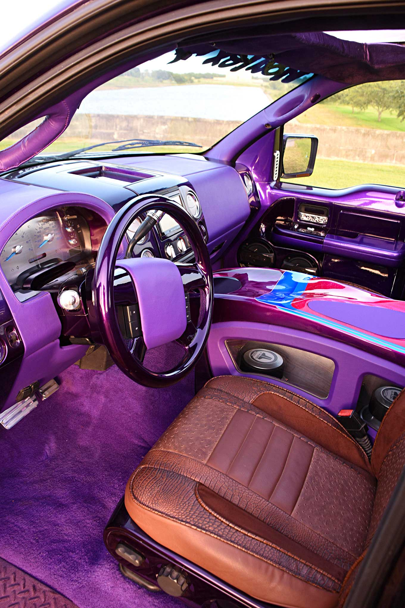 Wild West Cars And Trucks >> 2006 Ford F150 Custom Interior - Lowrider
