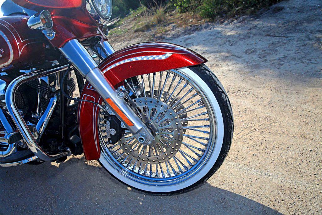 2015 Harley Davidson Street Glide DNA Fat Daddy Spoke Wheel