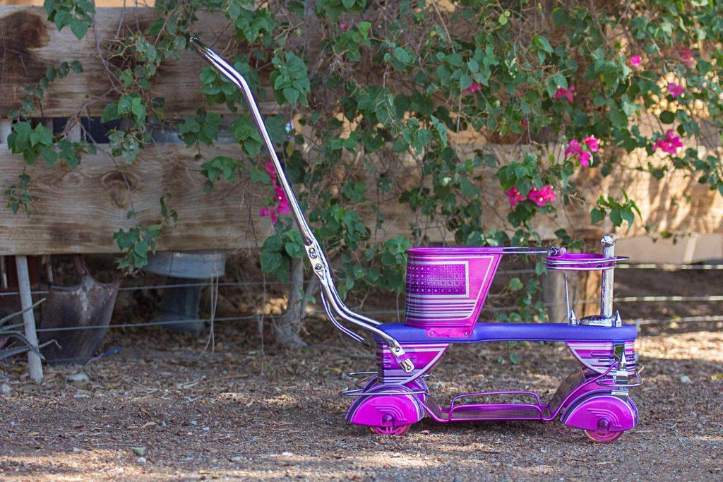 Krazy Kuttin Stroller Side View