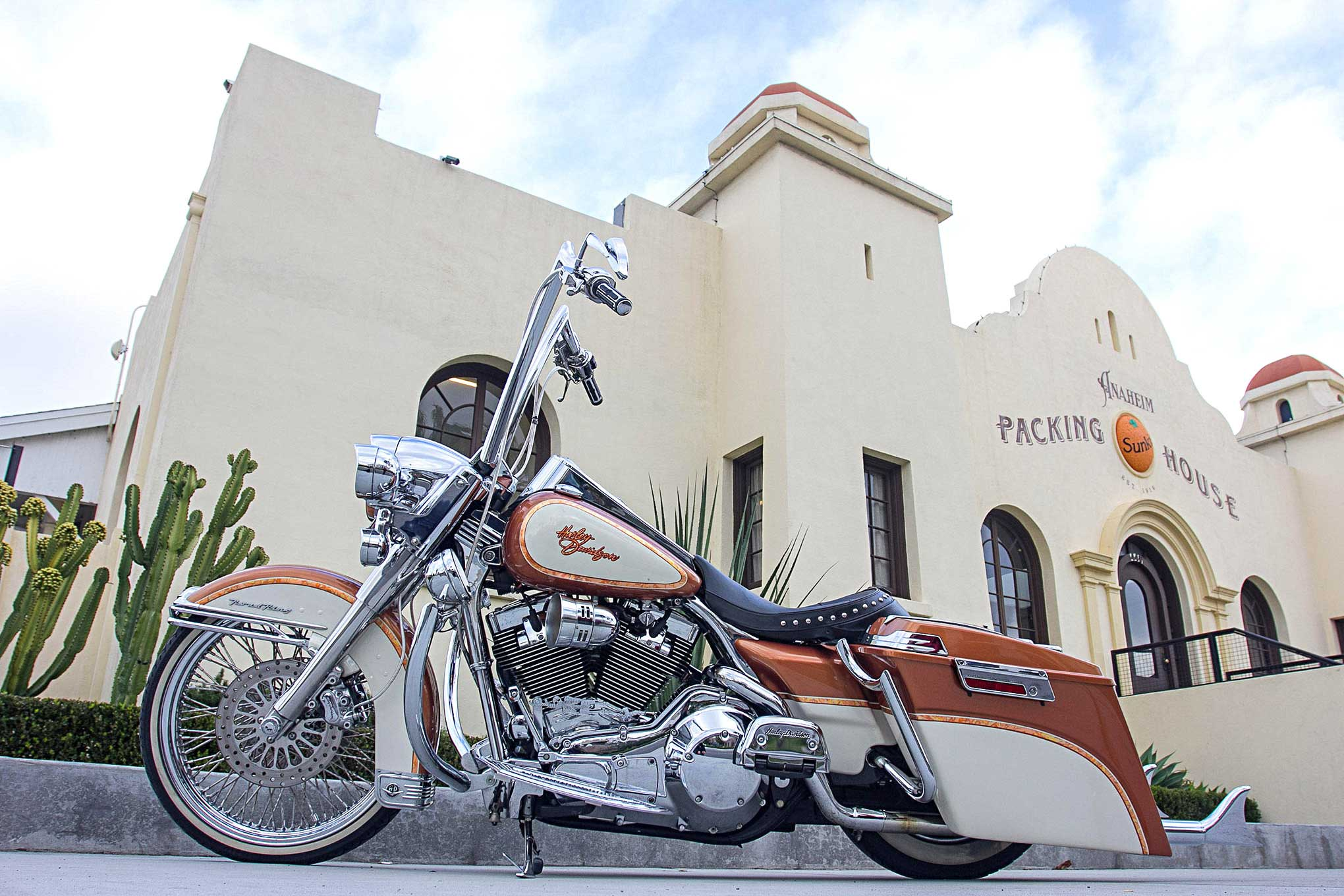 king road harley 2004 davidson custom wheel front wheels inch wire trading places profile side lowrider