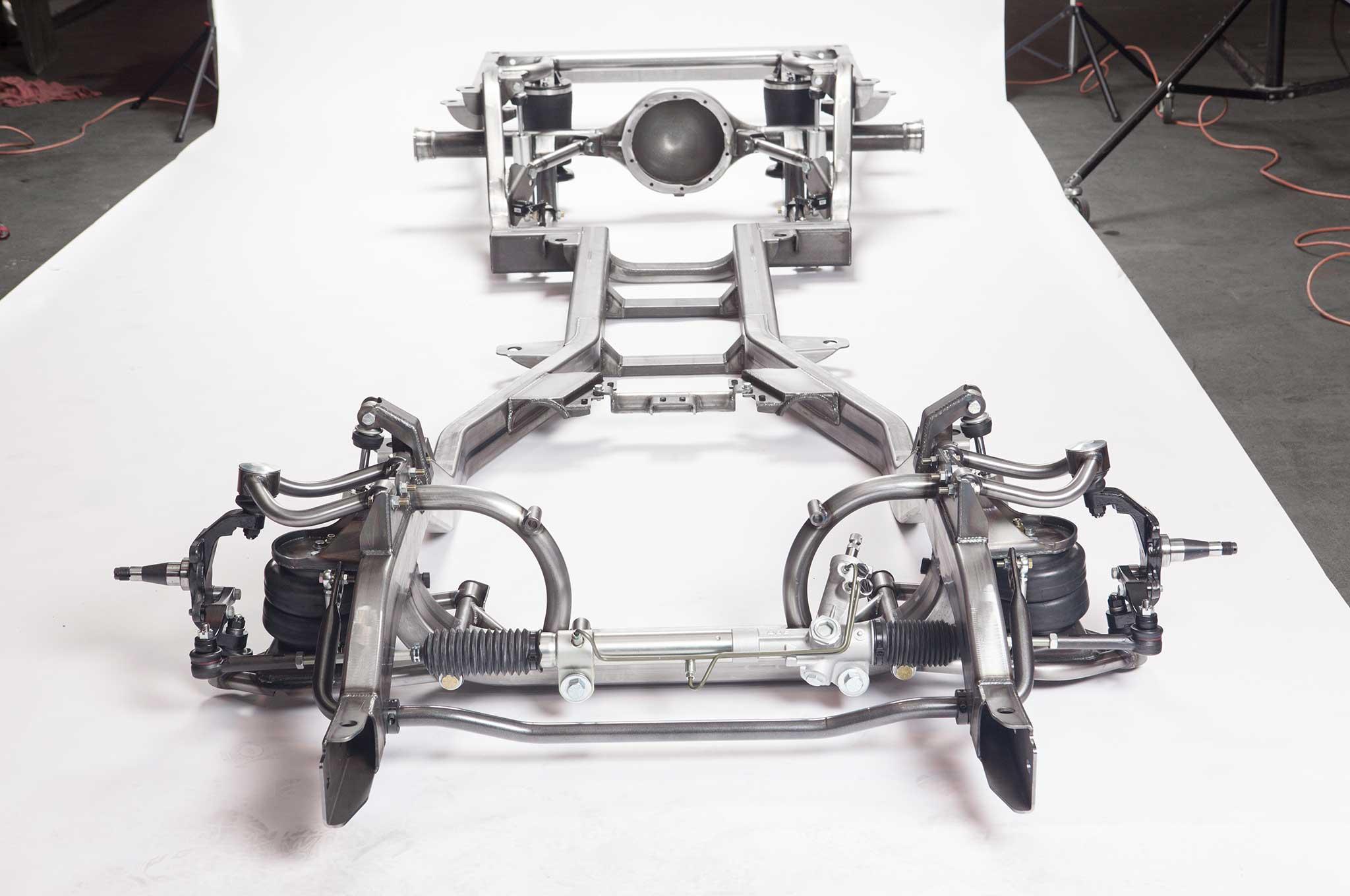 Art Morrison S New Frame For The 1959 1964 Impala