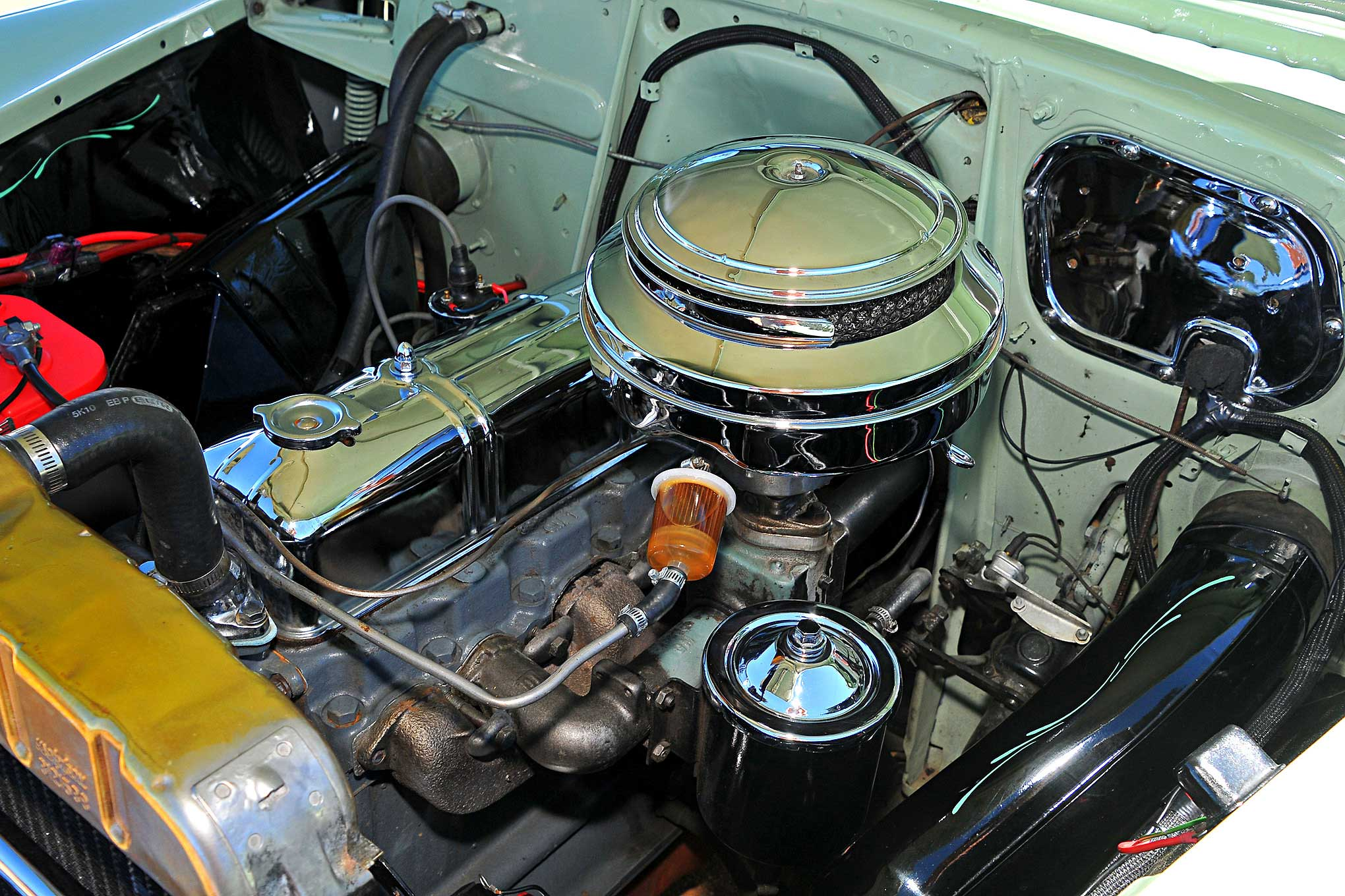 1950 Chevrolet Deluxe 235 Straight Six Engine