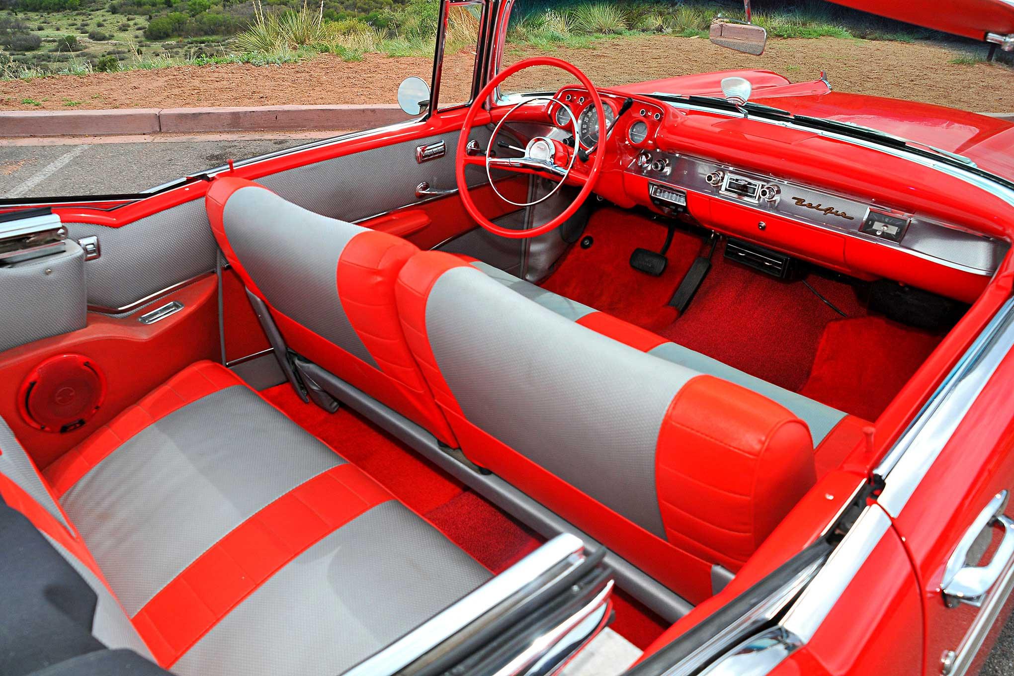 1957 Chevrolet Bel Air Fire Desire