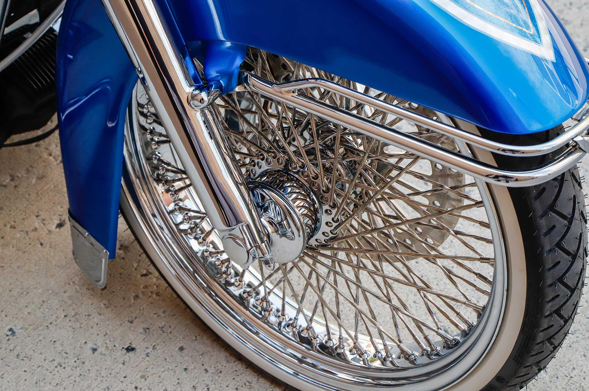 Harley Davidson Cruiser >> 2001 Harley Davidson Road King DNA Twisted Spoke Wheel - Lowrider