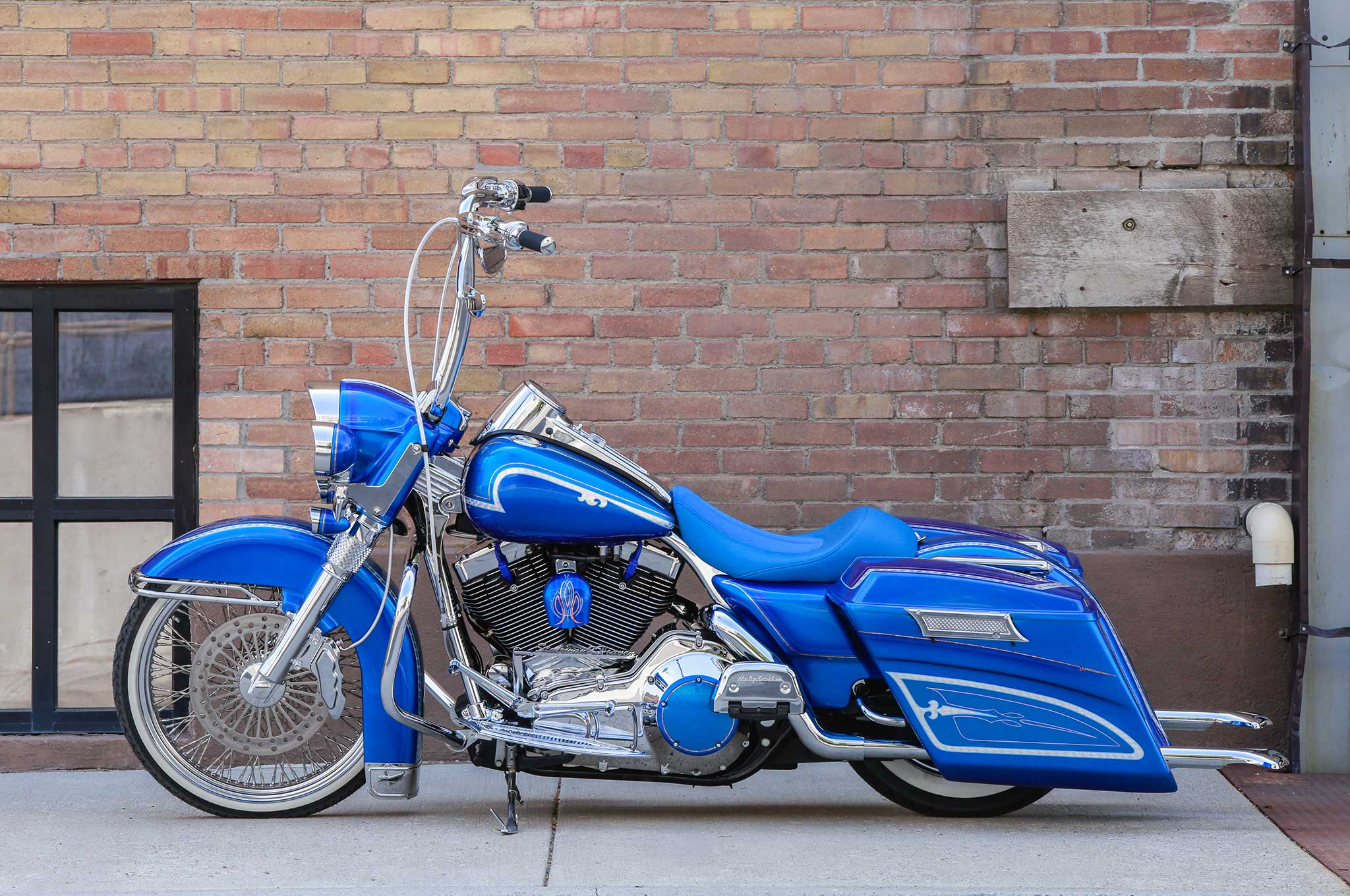 How To Put Air In Car Tires >> 2001 Harley Davidson Road King - Stairway to Heaven