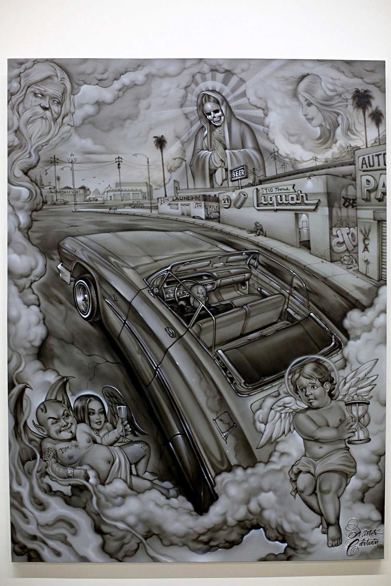 Lowrider Miami >> Art At The Peterson Mister Cartoon - Lowrider