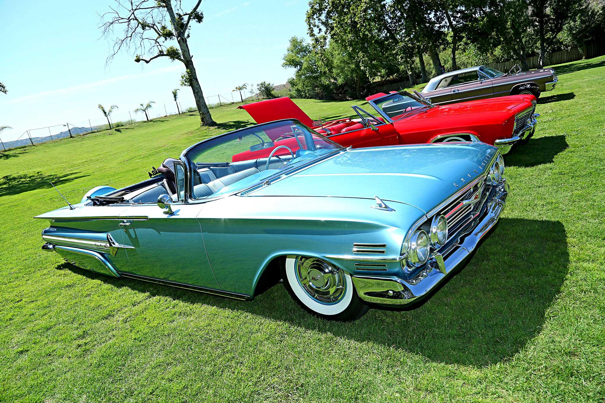 Impalas Car Club OC Chapter 2017 BBQ 1960 Chevy Impala ...