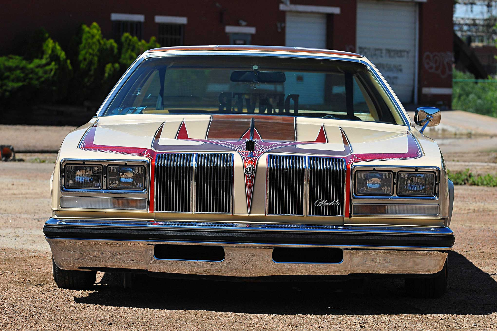 1976 Oldsmobile Cutlass Supreme Brougham Front Bumper ...