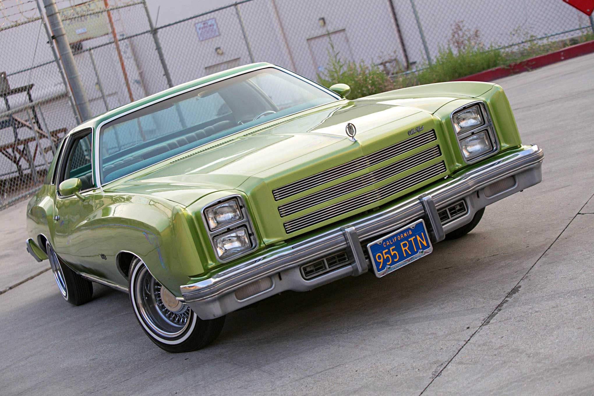 Chevrolet Monte Carlo Front Bumper
