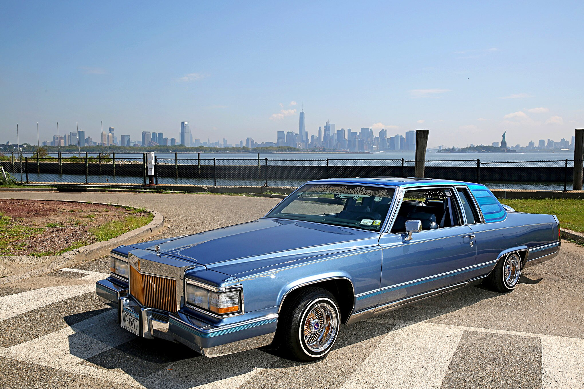 1984 Cadillac Coupe Deville front driver side three ...