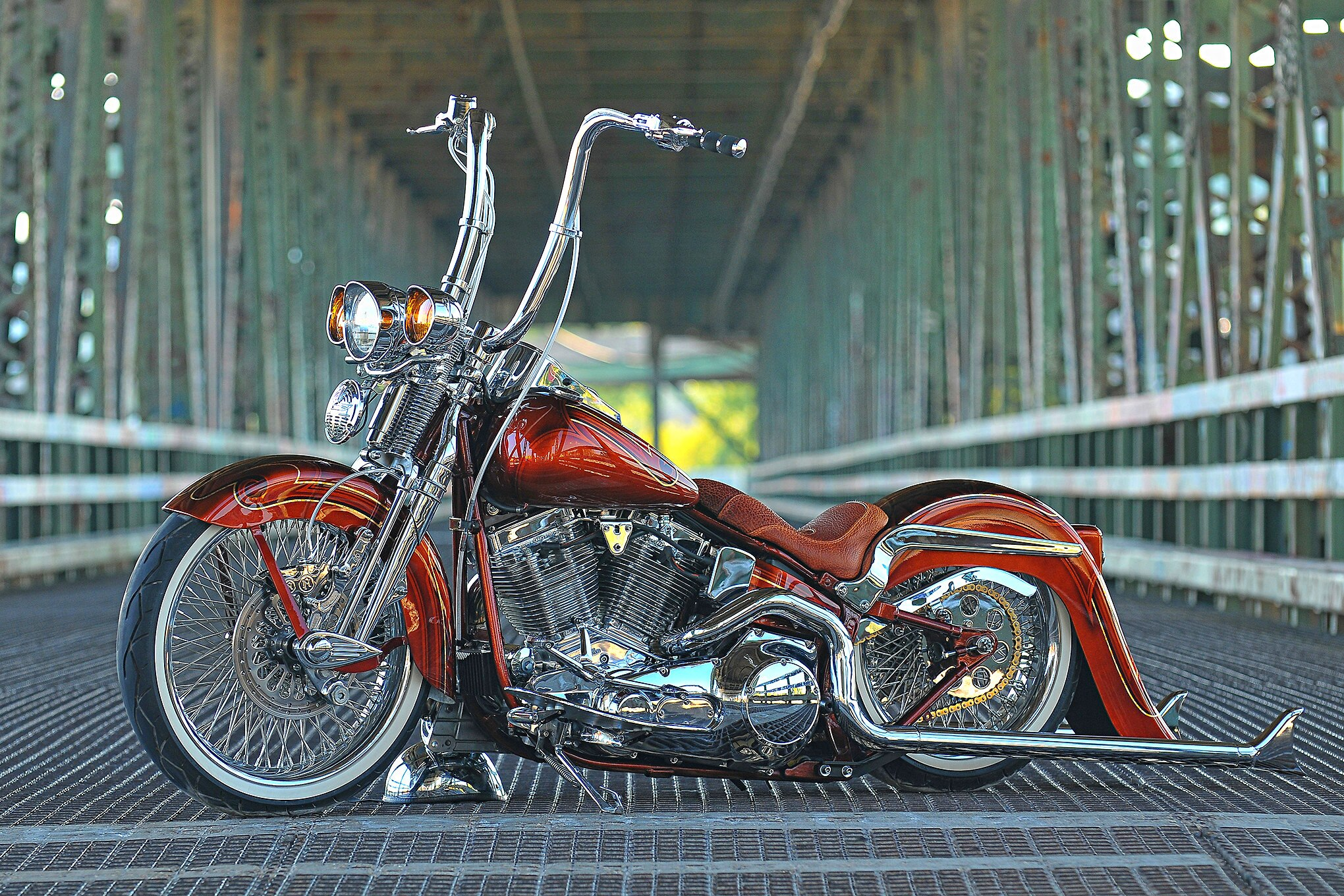 This 1999 Harley Davidson Softail Was Born To Ride