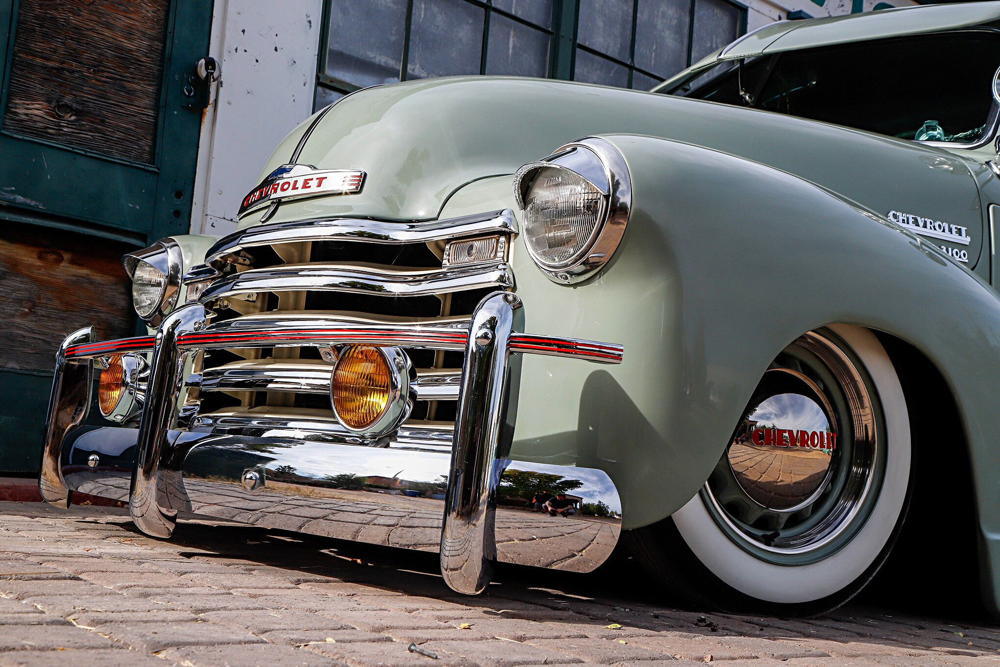 1950 Chevrolet 3100 Front Bumper Guards Lowrider