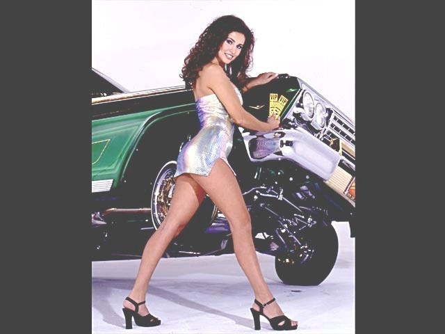 Lowrider Model Liliana Gonzalez Jan 2000 Lowrider