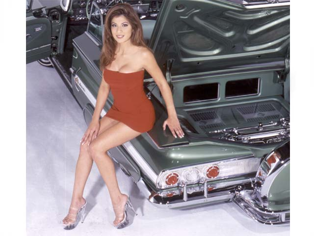 Lowrider Model - Crystal Varela - Jan 2001