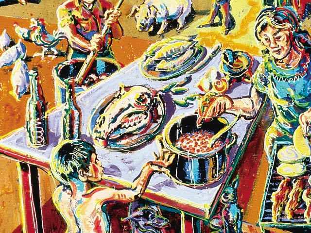1986 Buick Regal >> Chicano Art by Cheech Marin - Lowrider Arte Magazine