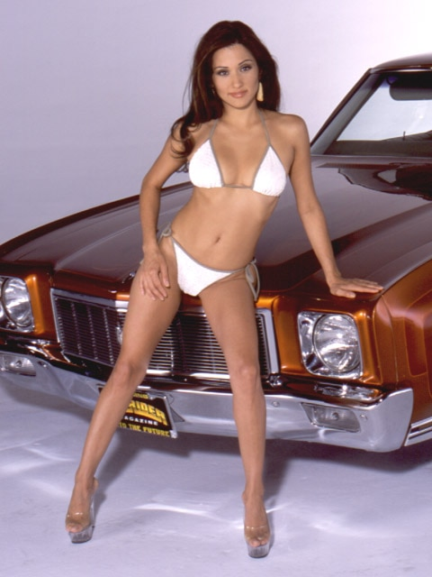 Lowrider Model - Yvette Lopez - Mar 2003 - Lowrider Magazine