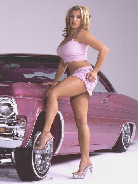 Lowrider Model - Vanessa Kay - Lowrider Magazine