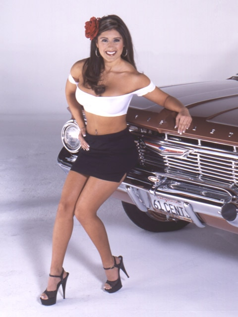 Lowrider Model Rosina Gavilanes May 2003 Lowrider