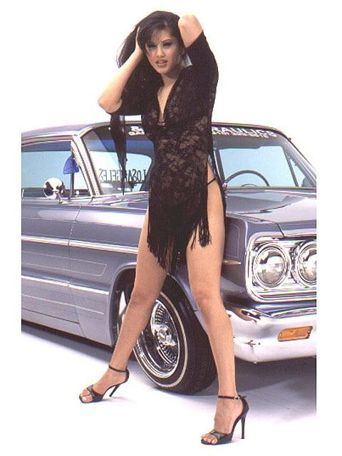 Lowrider Model - Sunny Leone - Jun 2003 - Lowrider Magazine