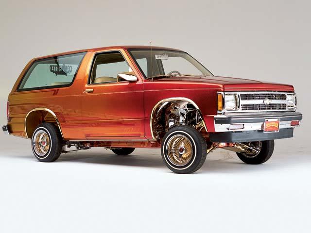 1985 Chevy Blazer The Outlaw -- Lowrider Magazine
