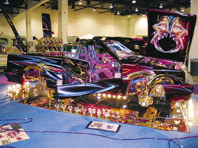 Ronnie Payan also is a three-time Lowrider Euro of the Year champion. Now you know.