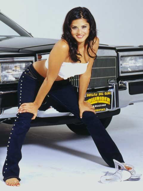 Lowrider Model - Sunny Leone - Nov 2003 - Lowrider Magazine