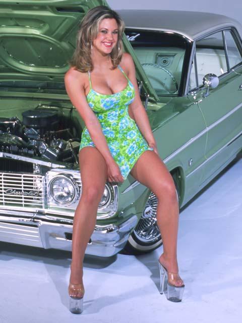 Bel Air Car >> Lowrider Model - Melanie Perez - Jan 2004 - Lowrider Magazine